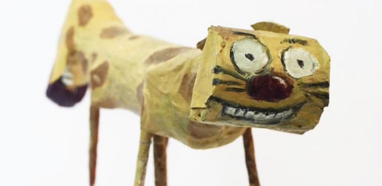 Makulatura to nie śmieć – kukiełka z papier mache