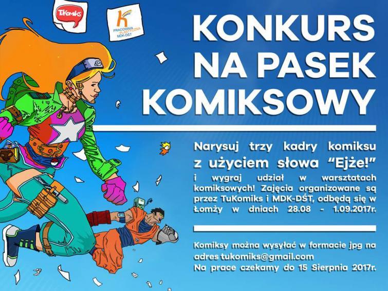 Konkurs plastyczny na Komiks EJŻE !