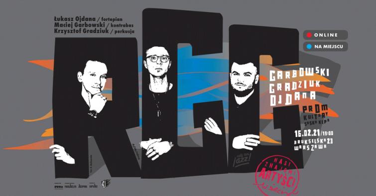RGG - polecamy koncert w ramach Nasi Znajomi Artyści w Sieci
