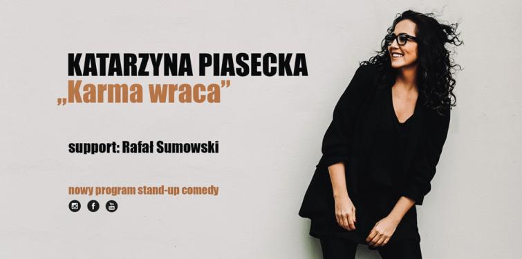 Katarzyna Piasecka – stand-up comedy