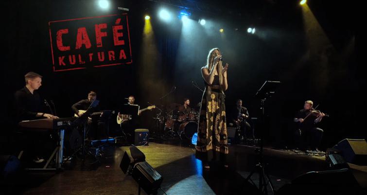 Izabela Szafrańska w ramach Cafe Kultura
