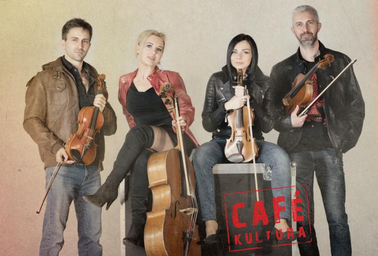 Kwartet Smyczkowy AQuartet w ramach Cafe Kultura