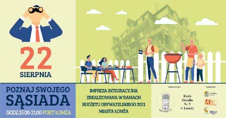 Piknik Integracyjny Poznaj Swojego Sąsiada
