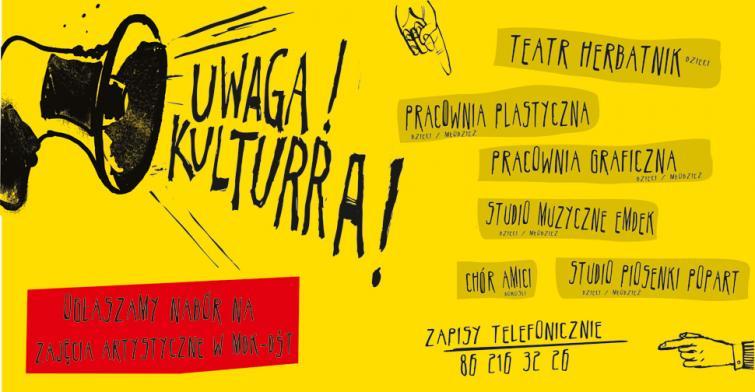 Uwaga Kulturra ! Ogłaszamy nabór do grup artystycznych na 2021/2022 rok